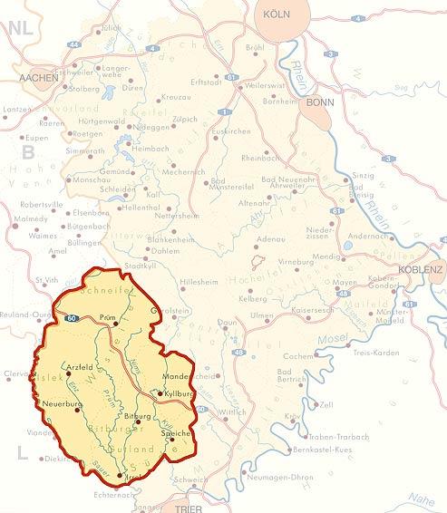 Kreis Bitburg-Prüm - Eifelführer - Eifelreise